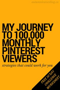 pinterest strategies for business success - monthly viewers