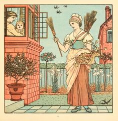 The Baby's Bouquet (1900) by Walter Crane - Open Library