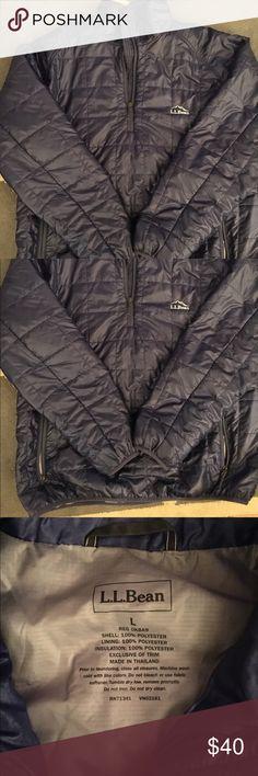 LL Bean pullover jacket LL Bean pullover jacket. Zipper pockets. Worn once! Great brand-lifetime guaranty. L.L. Bean Jackets & Coats Puffers