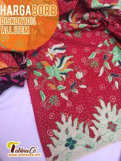 kain batik madura ukuran 200 x 110 cm , bahan katun santyu