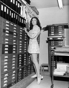 70s secretary at work. Snapshot | SNAP! Vintage snapshots ...