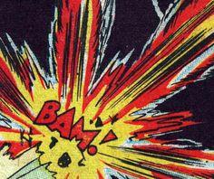 .BAM! comic book pop art retro vintage