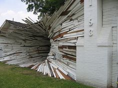 Art | Tumblr - Inversion House by Dan Havel and Dean Ruck - installation sculpture