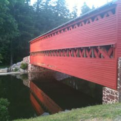 Bridge at Gettysburg. Apparently it's haunted. Ohhhh.