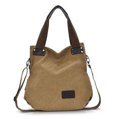 Europe Trendy Women Handbags 2016 New Women Canvas Shoulder Bag Vintage Retro Bolsa Feminina Leisure Women's Bags