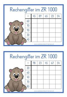 Rechengitter im ZR 1000 (GEMISCHT) Learning Resources, Kids Learning, School Frame, Numeracy, Back To School, Classroom, Education, Comics, Meme