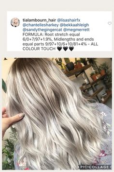 All About Hairstyles Fall Blonde Hair Color, Hair Color Formulas, Hair Toner, Hair Color Techniques, Hair Again, Cut My Hair, Silver Hair, Balayage Hair, Hair Hacks