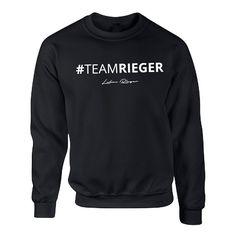Lukas Rieger #Teamrieger Sweater Schwarz