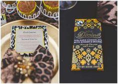 Out of Africa-themed Wedding Inspiration Shoot Wedding Menu, Wedding Shoot, Wedding Stuff, Themed Weddings, Wedding Themes, Wedding Ideas, African Party Theme, Safari Wedding, Safari Chic