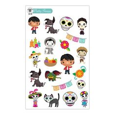 Coco Stickers Disney Planner Stickers