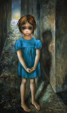 One of the Big Eyes painting by Margaret Keane. I've always wanted a framed poster of one of her prints.