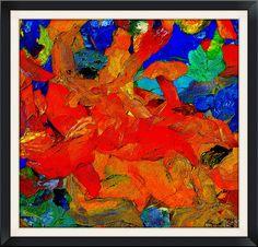 (24) Cuadros Modernos Abstractos - Bs. 12.500,00 en Mercado Libre