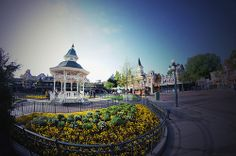 Disneyland Paris - Fisheye + Retro actions