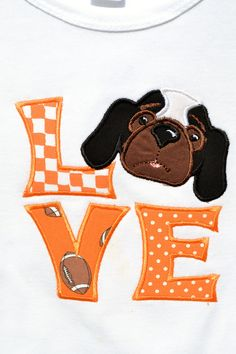 Tennessee LOVE. Wait till I show my embroidery crazy mom this!