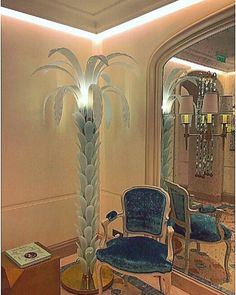 Palm at the Hotel de Crillon in Paris