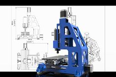 Mini cnc - AutoCAD, Alibre Design, STEP / IGES, SOLIDWORKS, Other - 3D CAD model…