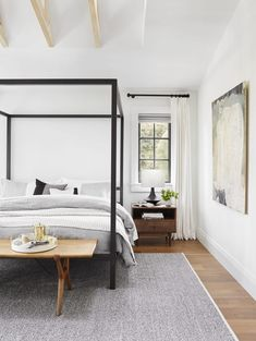 11 Ways To Pull Together A Dreamy Master Bedroom Suite on Modern Bedroom Designs 4269 Modern Master Bedroom, Master Bedroom Design, Beds Master Bedroom, Bedroom Designs, Contemporary Bedroom Decor, Minimal Bedroom, Queen Bedroom, Bedroom Black, Contemporary Interior
