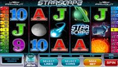 #StarScape video slot is a five-reel, twenty-five line game that is based on the solar system. It's perfect for clear headed adult players who love the colorful images of the #celestial bodies as well as real money #jackpots.  There are many symbols in this mystical #slot game. The basic ones which are numbers and letters are clear and bold.