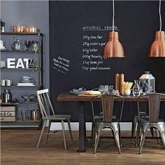Decorare una parete con la pittura effetto lavagna! 20 esempi a cui ispirarsi… (VIDEO)