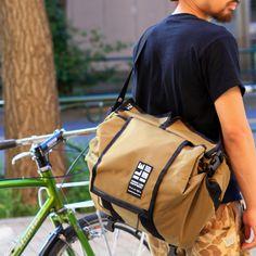 * ILE * rack bag (brown)