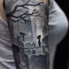 Impressive Limbo Ink- the way they got that to pop like it does is SO impressive! It must have taken a lot of control.