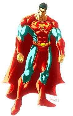 Superman X by ErikVonLehmann.deviantart.com on @deviantART