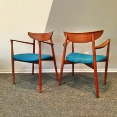 Joint Effort Studio: Ostergaard Teak Chair Pair, at 16% off!  Holy Crap I found a pair in the junk that  I have to reupholster.