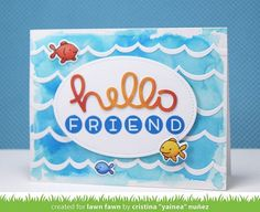 Lawn Fawn Intro: Owen's ABCs and Stitched Oval Stackables