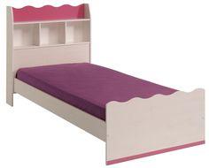 Kinderbett Lilou Ein kleiner Möbeltraum für Mädchen ist ganz offensichtlich das Kinderzimmer - Programm Lilou. Wie sanfte Wellen berühren die Aussparungen der Möbelfronten die Sinne und die...  #kinder #kinderzimmer #kinderbett