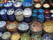De très belles et exotique assiettes turcs