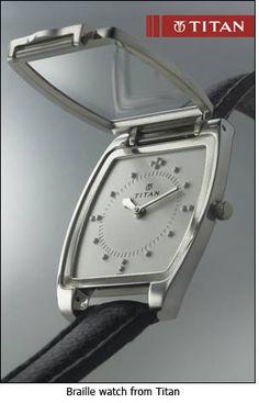 Titan Braille watches