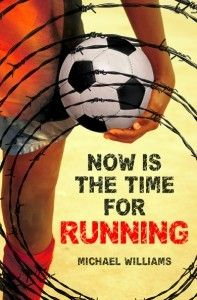 Now is the Time for Running by Michael Williams. As Zimbabwe disintegrates under its new leadership, Deo's village is brutally attacked and he can only save Innocent, his brother who is mentally delayed. Ya Books, Books To Read, Nook Books, Michael Williams, Play Soccer, Soccer Ball, Soccer Tournament, The Life, The Book