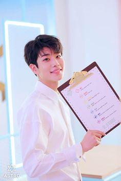 MJ from the Baby MV with the drink menu. K Pop, Got7, Kim Myungjun, Lee Dong Min, Astro Fandom Name, Eunwoo Astro, Pre Debut, Artsy Photos