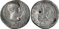 NumisBids: Numismatica Varesi s.a.s. Auction 65, Lot 68 : DOMITIA - Cn. Domitius L.f. Ahenobarbus (41-40 a.C.) Denario. B....