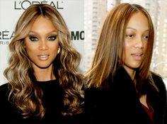 Tyra Banks | Female Celebrities Shedding Their Makeup