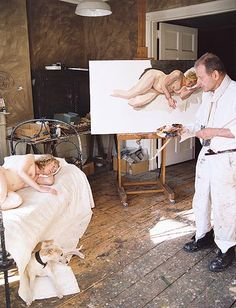 After a chance meeting with Lucian Freud, art handler Ria Kirby agreed to sit for him – a huge commitment which was to last for 16 months, seven nights a week, on top of her day job. Martin Gayford tracked the work as it progressed.