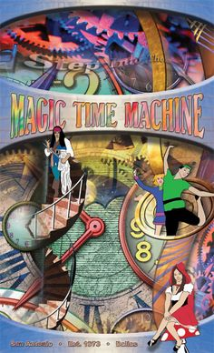 Magic Time Machine Restaurant in Dallas or San Antonio, TX  This place is SO fun :) Great for parties & celebrating a birthday!