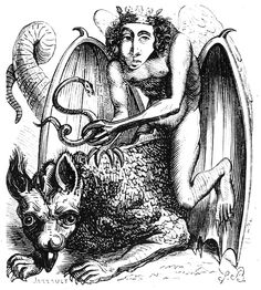 Astaroth (also Ashtaroth, Astarot and Asteroth), in demonology, is the Great Duke of Hell, in the first hierarchy with Beelzebub and Lucifer; he is part of the evil trinity. He is a male figure most likely named after the Mesopotamian goddess Ishtar. Evil Demons, Angels And Demons, Vintage Gallery, Gravure Photo, Grand Duc, King Solomon, Arte Obscura, Necromancer, Arte Horror