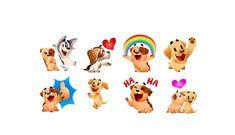 ¿Quieres los stickers de perritos en tu Facebook Messenger? Así es como puedes adquirirlos. Te encantarán.