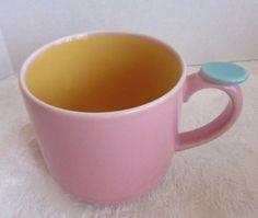 Lindt-Stymeist Colorways Thumbprint Mug Pink Yellow Turquoise #LindtStymeist