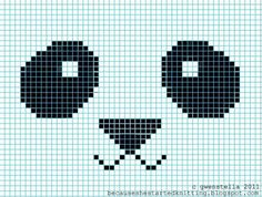 because she started knitting: DIY: Knitted Panda Hat free fair isle chart pattern Baby Knitting Patterns, Knitting Charts, Loom Knitting, Knitting Stitches, Hat Patterns, Knitting Needles, Knitting Projects, Sewing Projects, Panda