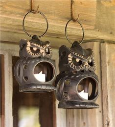 Owls some cultures represent wisdom. Check out these amazing and affordable Owl Holiday Decor & Gift Ideas for the Home items will have you smitten, as well. Owl Lantern, Lantern Lamp, Candle Lanterns, Owl Home Decor, Owls Decor, Owl Kitchen Decor, Owl Decorations, Owl Always Love You, Beautiful Owl
