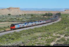 RailPictures.Net Photo: AMTK 156 Amtrak GE P42DC at Wellington, Utah by James Belmont