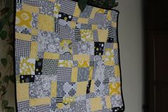 disappearing nine patch baby blanket