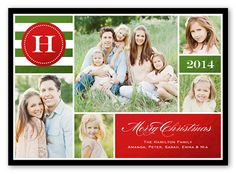 Shining Monogram 5x7 Stationery Card by Stacy Claire Boyd | Shutterfly