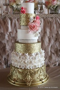 Pin by Mariam Hussain on Baroque cakes | Pinterest