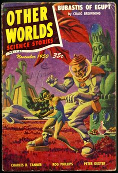 Other Worlds Science Stories, Nov. 1950, cover by Hannes Bok