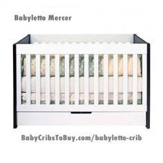 babyletto Mercer Convertible Crib in White / Espresso Baby Nursery Decor, Nursery Neutral, Nursery Themes, Nursery Ideas, Baby Boy Rooms, Baby Boy Nurseries, Baby Cribs, Contemporary Cribs, Modern Crib