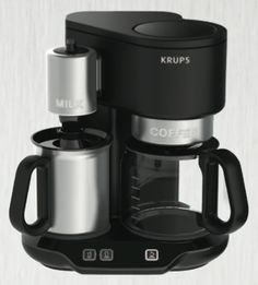 Save $40 off the list price of this Krups Latteccino Coffee Maker going for $109.99  http://www.andelion.co/deals/52f7e063e4b09eee47f3351b/Krups-Latteccino-Coffee-Maker-109