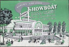 "The restaurant menu for the Showboat Hotel and Casino in Las Vegas, circa 1950s-1980s.  Part of UNLV Libraries ""Menus: The Art of Dining"" digital collection.  #UNLV"
